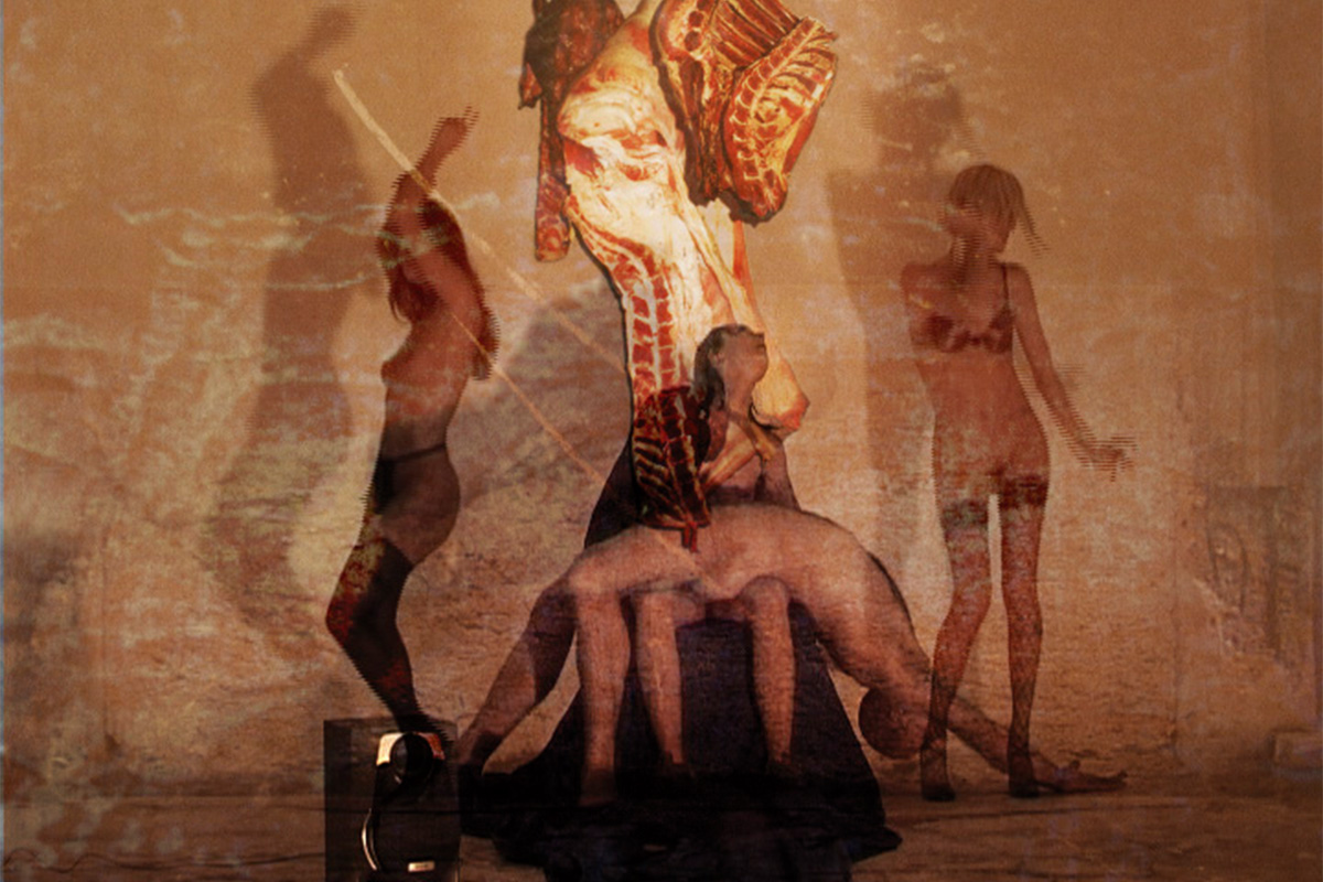 """<span>La pietanza</span> - frames dai film di """"Cabaret Elettrico"""""""