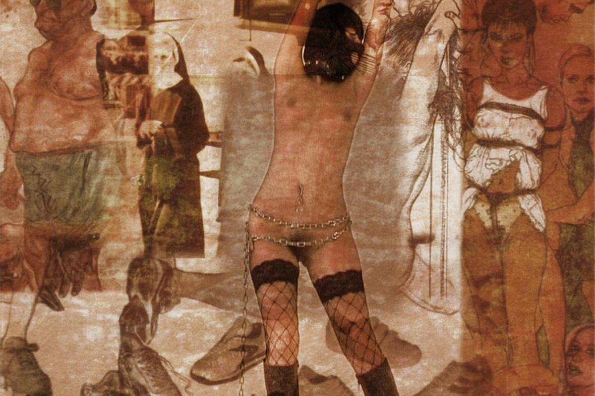 "<span>Santamadama patria</span> - frames dai film di ""Cabaret Elettrico"""